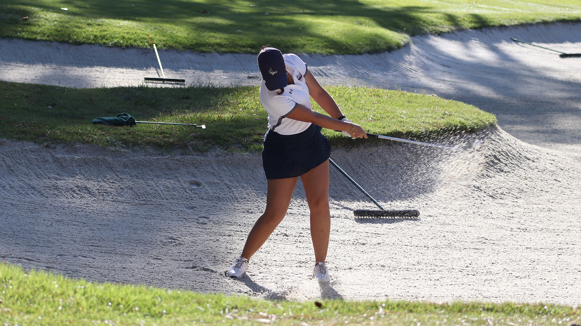 Uscb In Sixth Place After 36 Holes Of The Sand Shark Invitational